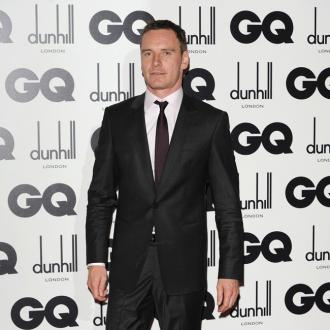 Michael Fassbender Targetted During Paintball