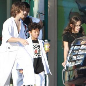 Michael Jackson's Children Bond With Mother