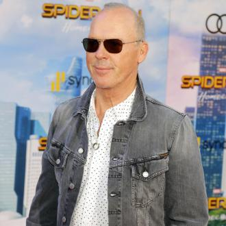 Michael Keaton thinks the weather has taken its toll on his skin