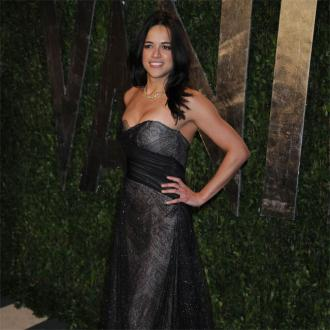 Michelle Rodriguez battles red carpet nerves