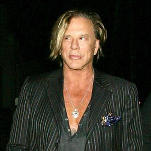Multi-layered Mickey Rourke