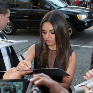 Mila Kunis: There's No 'Crazy Love Story' With Ashton