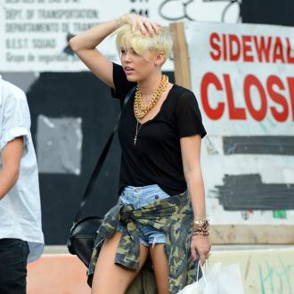 Miley Cyrus 'Swatted' For Second Time