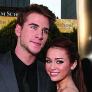 Miley Cyrus Makes Liam Happy