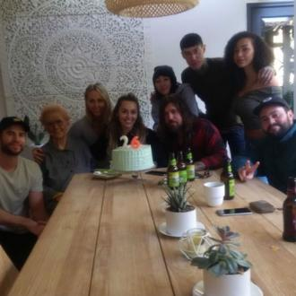 Miley Cyrus celebrates birthday with Liam Hemsworth and family