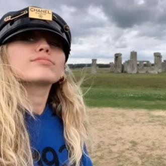 Miley Cyrus' 'spiritual' visit to Stonehenge