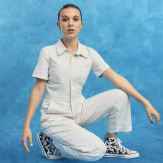 Millie Bobby Brown designs collection for Converse
