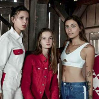 Millie Bobby Brown and Paris Jackson star in Calvin Klein advert