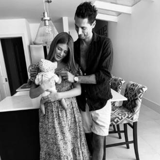 Millie Mackintosh shares first picture of baby daughter