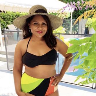 Mindy Kaling promotes body positivity