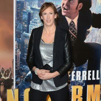 Miranda Hart's fox shock at London home