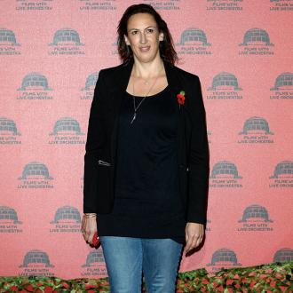 Miranda Hart thought she was being burgled when fox sneaked up her stairs