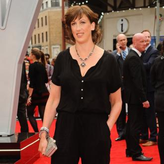Miranda Hart 'ran at' 50 Cent when they met