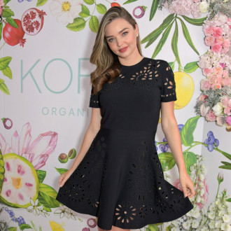 Miranda Kerr doesn't use all organic make-up