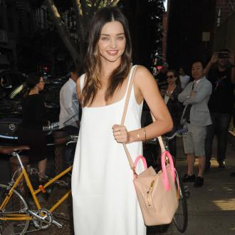 Miranda Kerr's Swarovski jewelery's 'positive message'