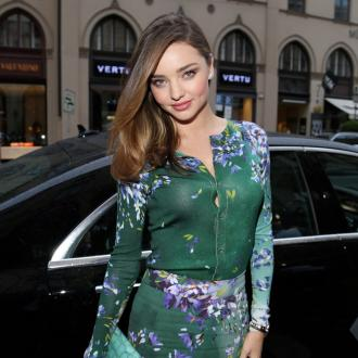 Miranda Kerr loves being home