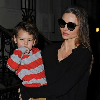Miranda Kerr's Son Makes Modelling Debut