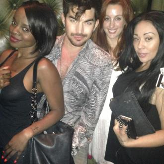 MKS party with Adam Lambert in LA