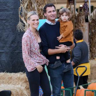 Molly Sims is worried about her son