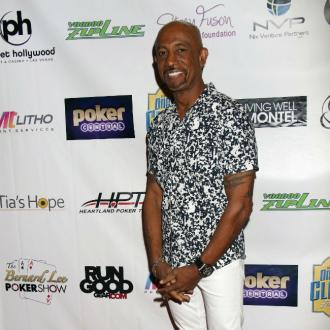 Montel Williams being treated in clinic
