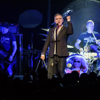 Morrissey dropped by his record label
