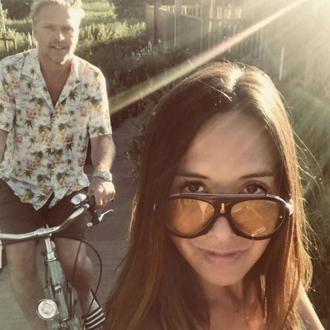 'I love you always and forever': Myleene Klass celebrates five years with boyfriend Simon Motson