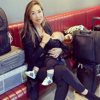 Myleene Klass defends breastfeeding pictures