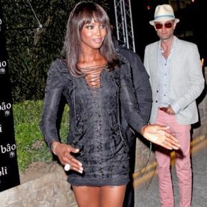 Naomi Campbell Stars In Cavalli Campaign