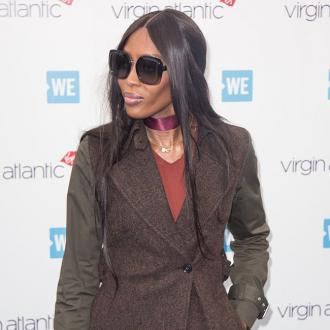 Naomi Campbell wanted to be 'protected' when she wore a hazmat suit to the airport