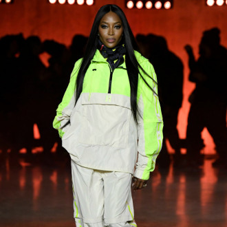 Naomi Campbell closed Michael Kors' 40th anniversary show in style