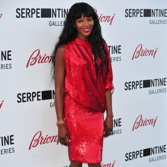Naomi Campbell Parties At Fashion Rocks
