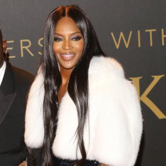 Naomi Campbell Finally Comfortable In Lingerie