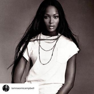 Naomi Campbell 'couldn't sleep' before her first Gap campaign