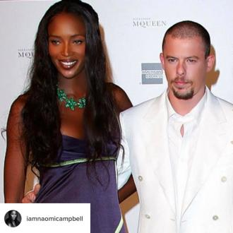 Naomi Campbell 'always' misses the late Alexander McQueen