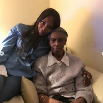 Naomi Campbell mourns grandmother