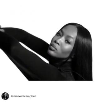 Naomi Campbell is the new face of Givenchy Jeans