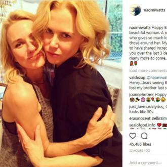 Nicole Kidman gets birthday messages from pals