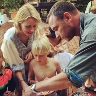 Naomi Watts and Liev Schreiber unite for son's 10th birthday