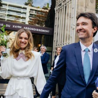 Natalia Vodianova gets married