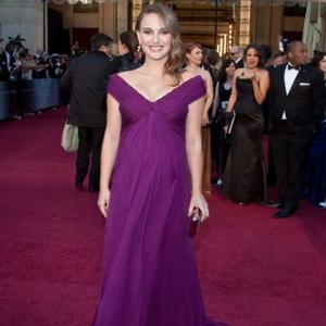 Natalie Portman's Baby Is Oscars Fan