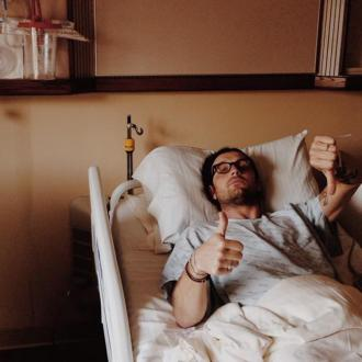 Nathan Followill in pain following injury