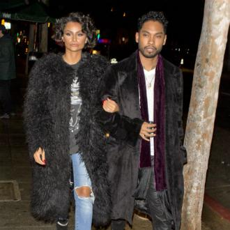 Miguel and Nazanin Mandi stayed together the night before their wedding