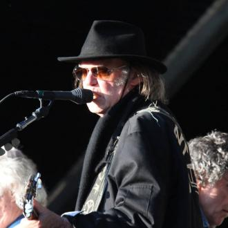 Neil Young's extensive online archive
