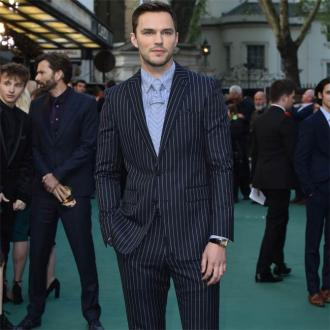 Nicholas Hoult takes up painting