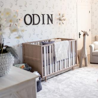 Nick And Lauren Carter Wanted Unisex Look For Son's Nursery