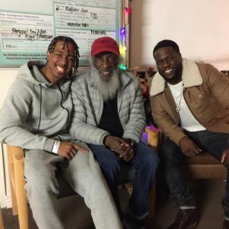 Kevin Hart visits Nick Cannon in hospital