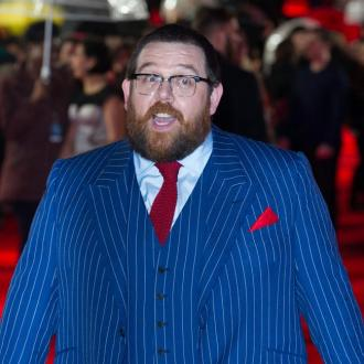 Nick Frost 'ruined' wedding day