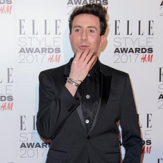 Nick Grimshaw starstruck by Chris Pratt