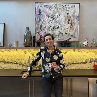 Nick Grimshaw's love for food in lockdown