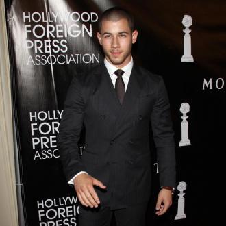 Nick Jonas Strips Down At Home